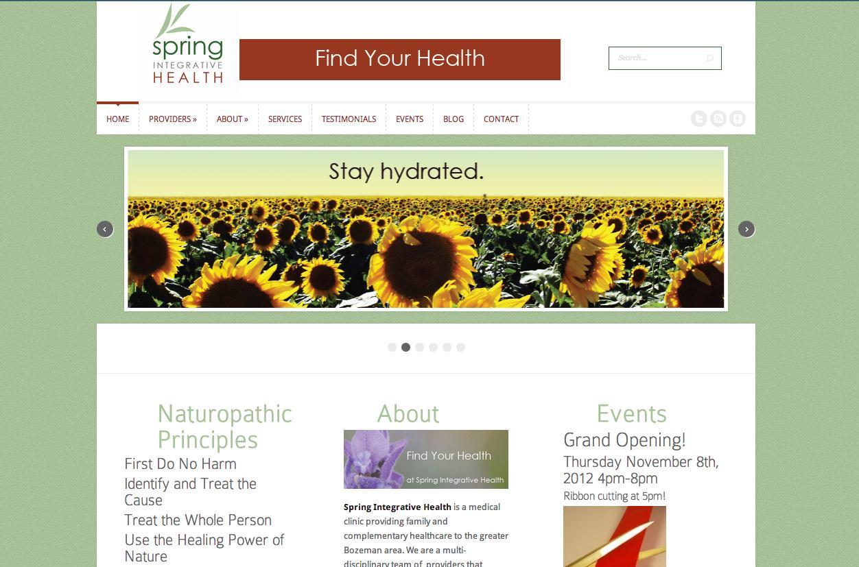 naturopath website