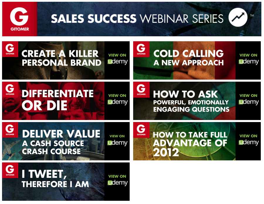 Sales Success Webinar Series screenshot2