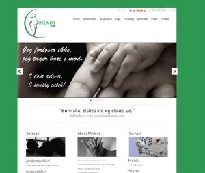 Midwife website design
