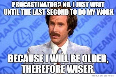 procrastination-will-ferrell-meme