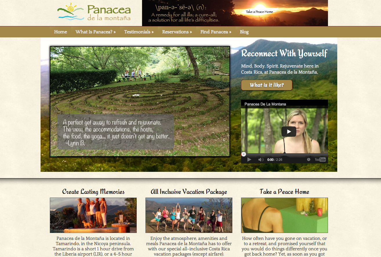 Costa Rica website design