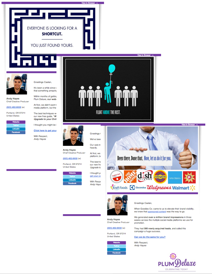 Email autoresponders ace of sales aweber design